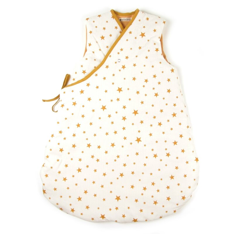 sleeping-bag-montreal-mustard-stars-1-nobodinoz