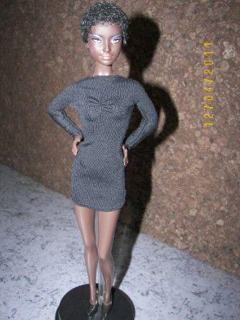 barbie: model muse noire N°9