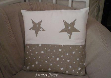coussin étoiles 003