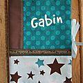 Housse de carnet de santé GABIN