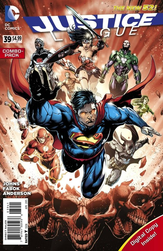 new 52 justice league 39 combo pack