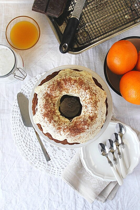 cake citrouille potiron orange Nigella Lawson 0003 LE MIAM MIAM BLOG