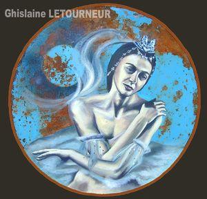 ODETTE OU LE LAC DES CYGNES Ghislaine Letourneur