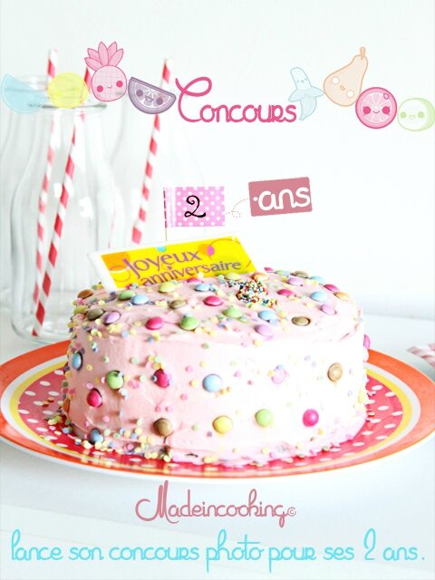 Joyeux Anniversaire Made In Cooking 2 Ans Made In Cooking