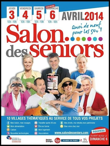 Salon des seniors 2014 parc des expositions de la porte for Salon porte de versailles 2014