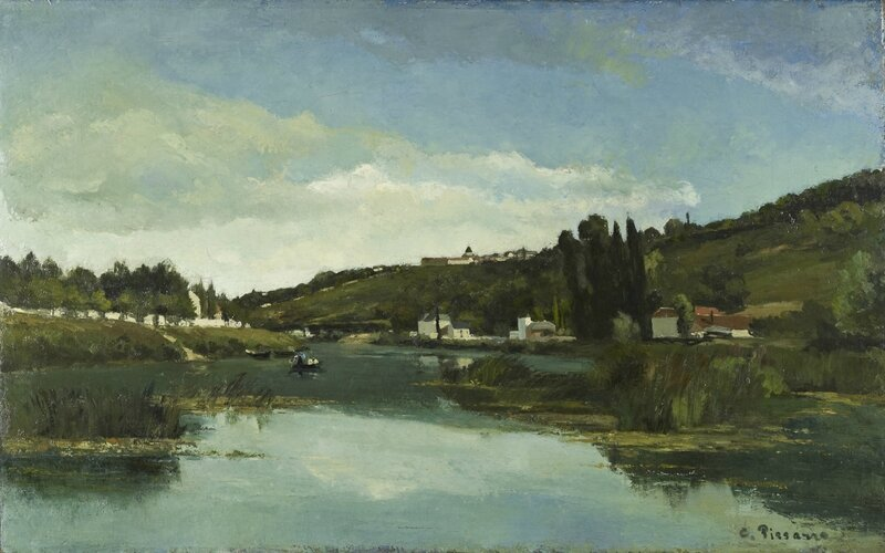 Pissarro_The-Marne-at-Chennevieres