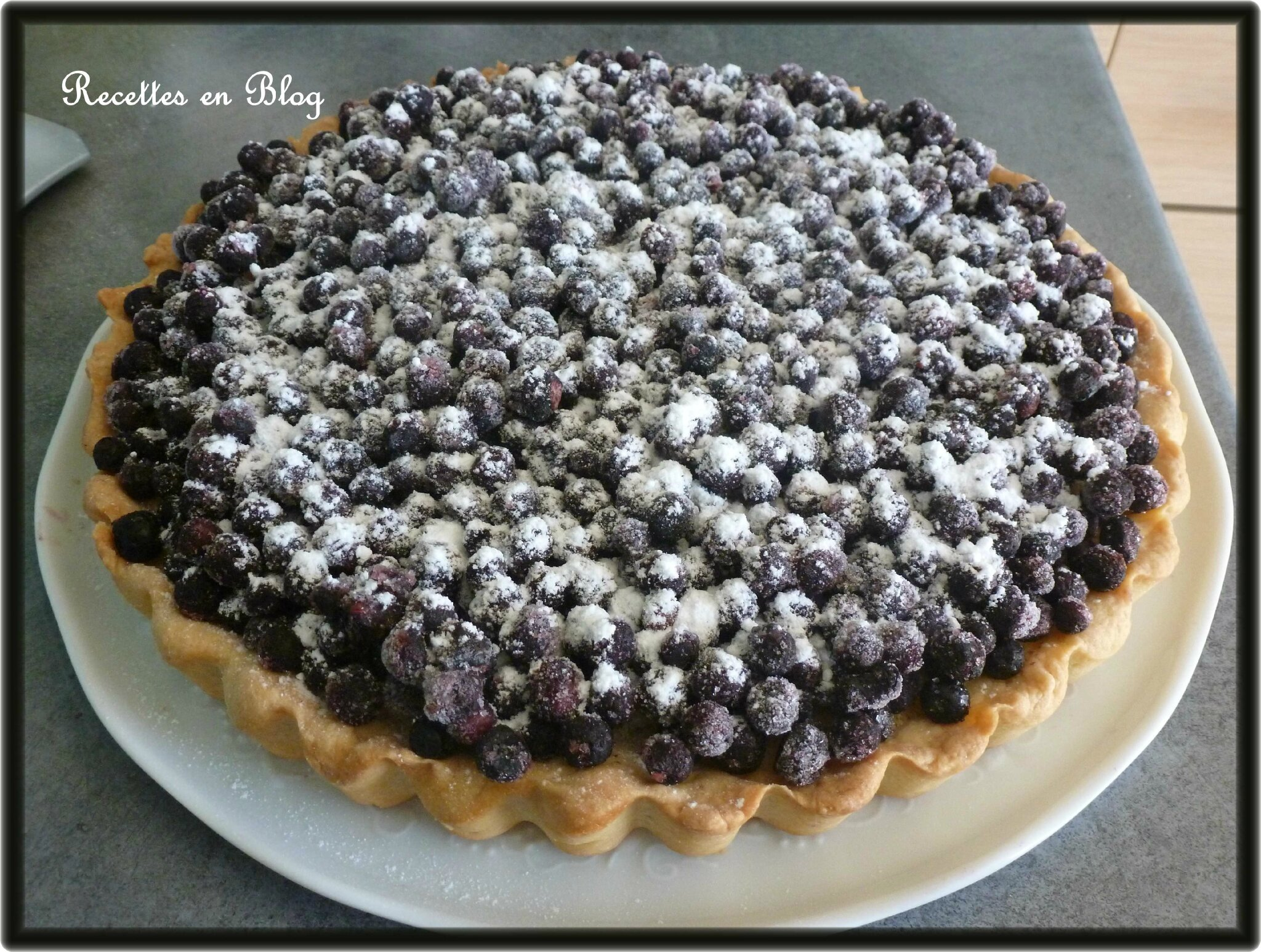 tarte aux myrtilles d 39 eric kayser recettes en blog. Black Bedroom Furniture Sets. Home Design Ideas
