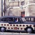 Royaume uni - Londres - Taxi publicitaire