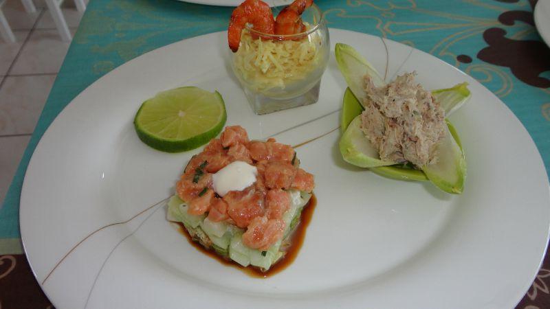 Fabulous Assiette gourmande de la mer - A TABLE !!! KD41