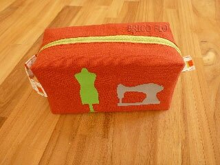 trousse orange manequin