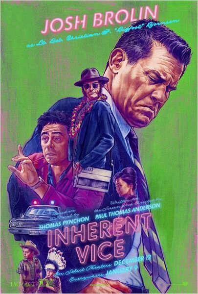 Inherent Vice (affiche Josh Brolin)