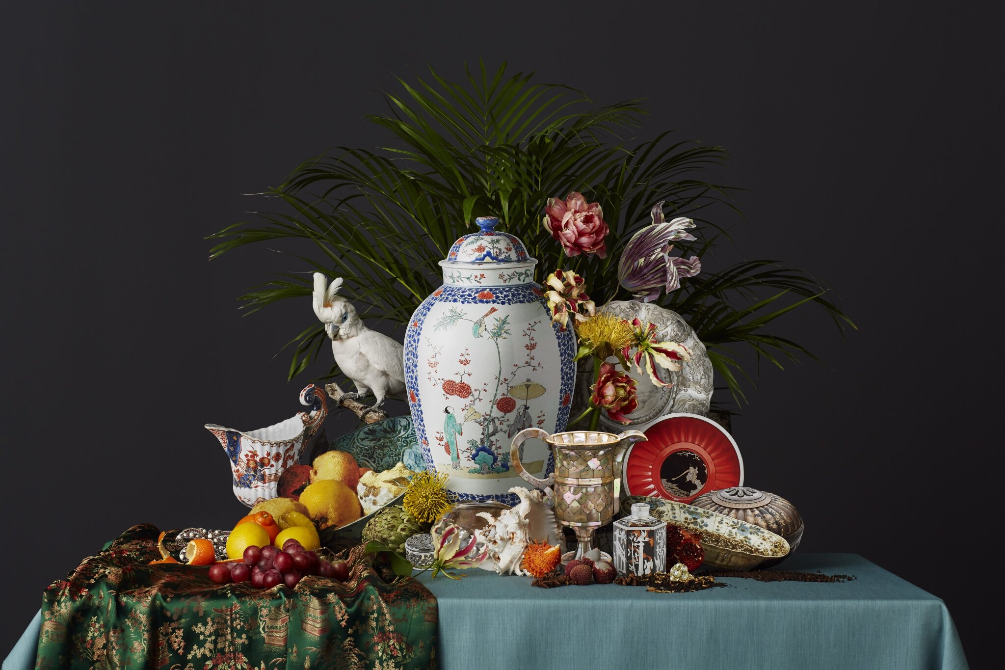 The Rijksmuseum presents an exhibition of Asian treasure in Dutch interiors