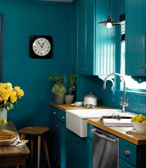 HOME DECOR BLEU PAON