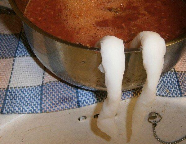 Plus épais le coulis moins liquide la sauce tomate (6)