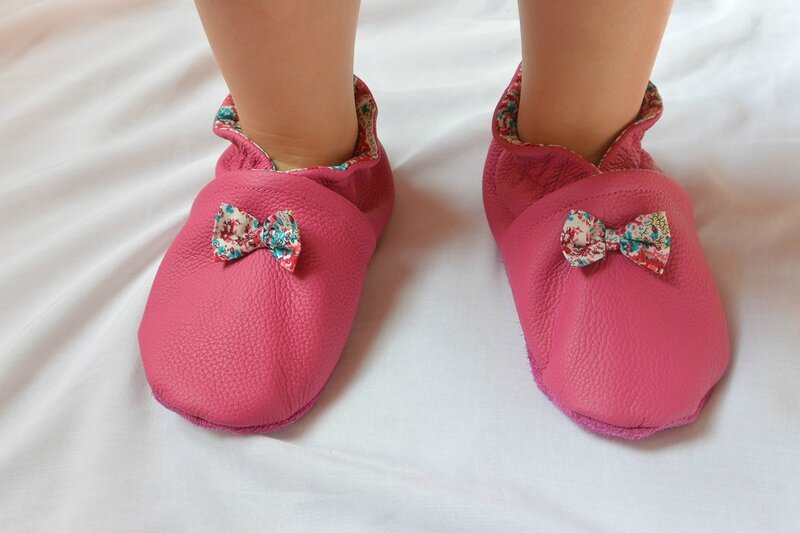 chaussons roses (16)