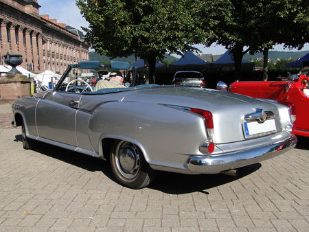 BORGWARD Isabella Coupe Cabriolet 1954 1961 Rohan Locomotion de Saverne 2010 2