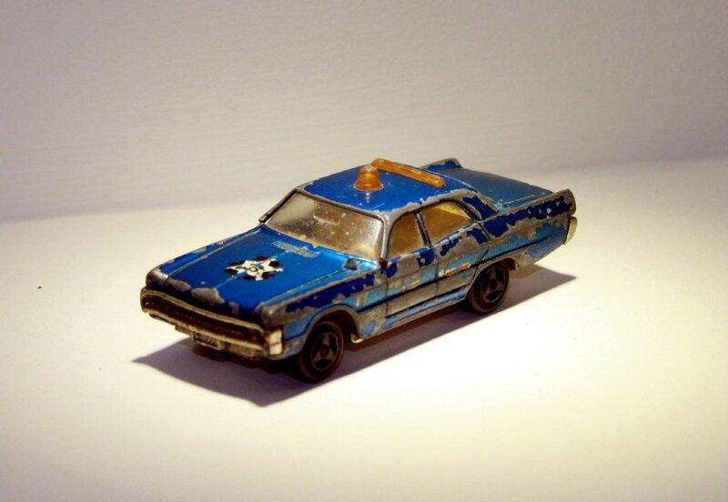Plymouth Fury de 1971 de chez Majorette 01