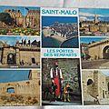 Saint Malo - les portes des remparts