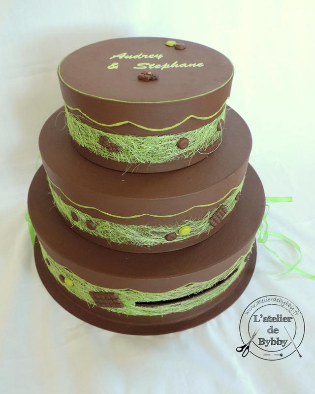 URNE Gateau Chocolat Anis