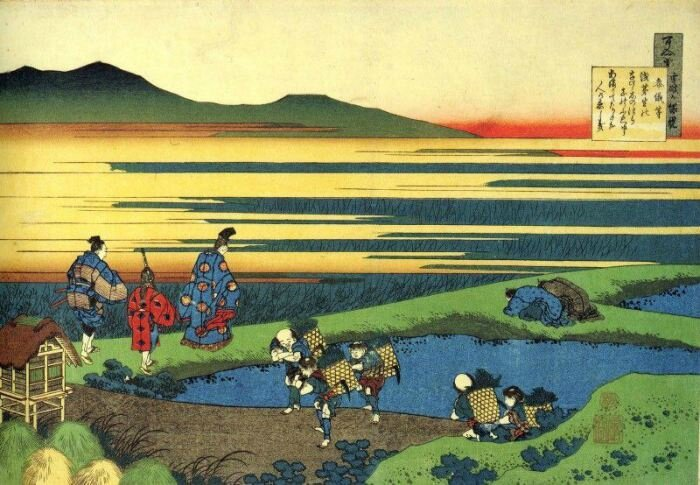 Hokusai Bambou