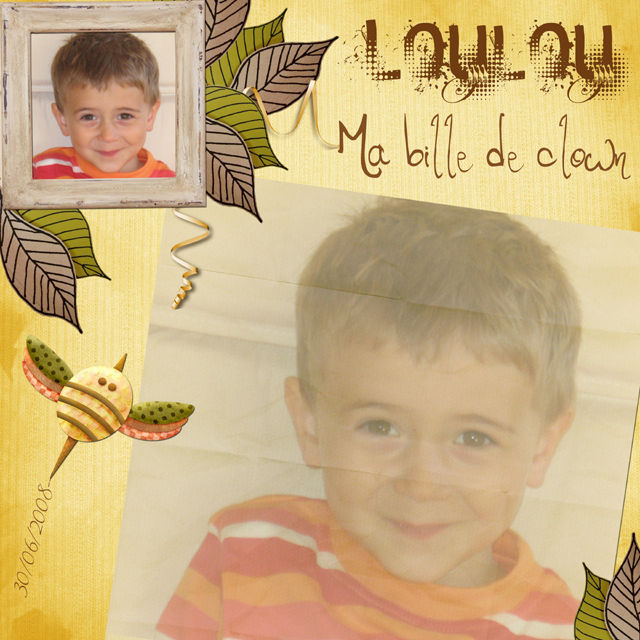 Loulou, bille de clown