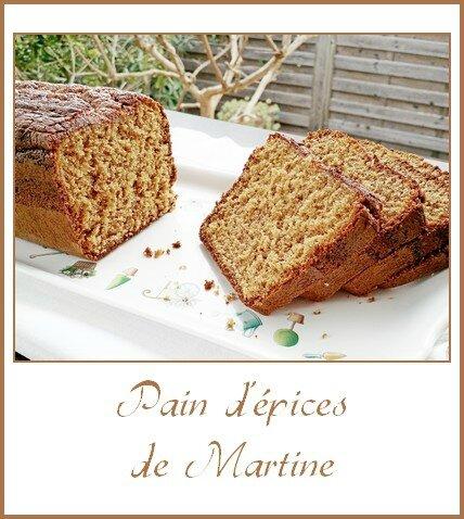 Pain d'épices de Martine