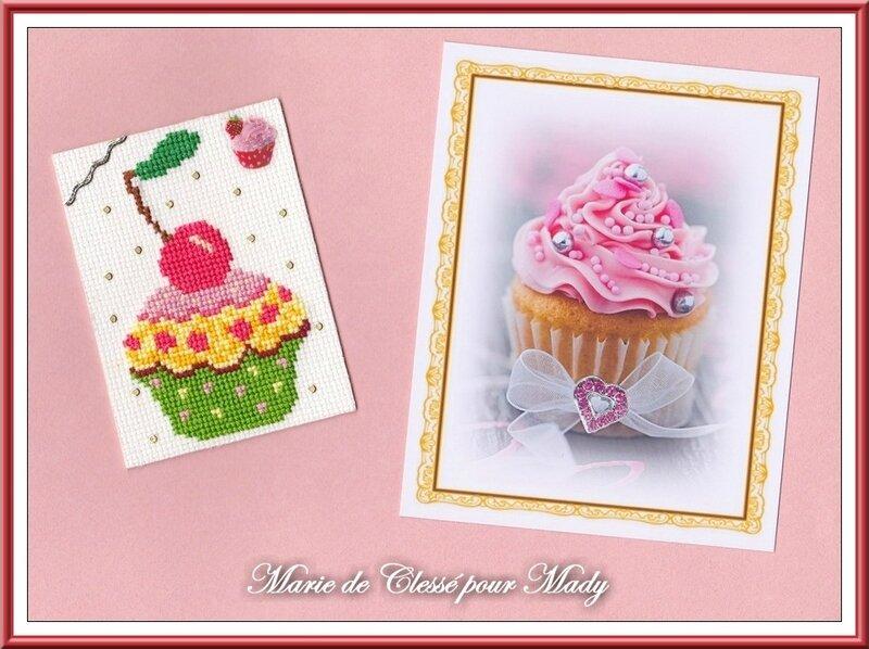 Échange ATC [Juin] Muffin Chez Miou Marie de Clessé pour Mady (2)