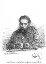 Sully-Prudhomme d'apres un dessin original de Louis Leloir