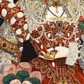 Nicholas hilliard. portrait of queen elizabeth i. detail.
