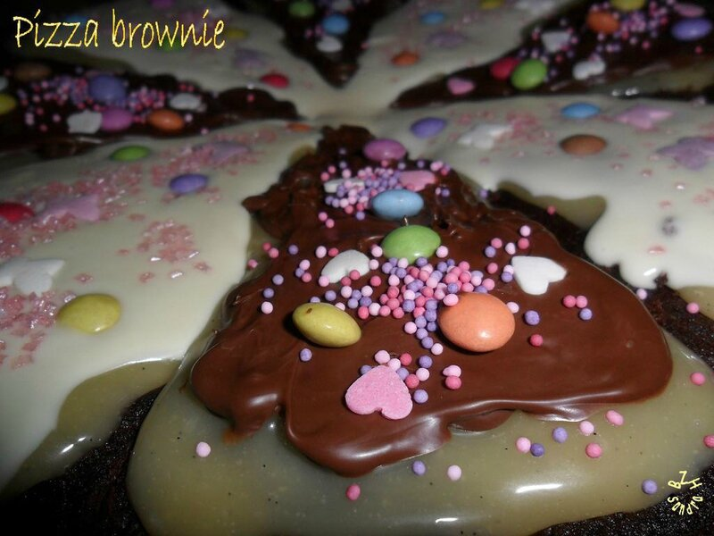 1018 Brownie pizza 4