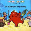 un elephant à la ferme