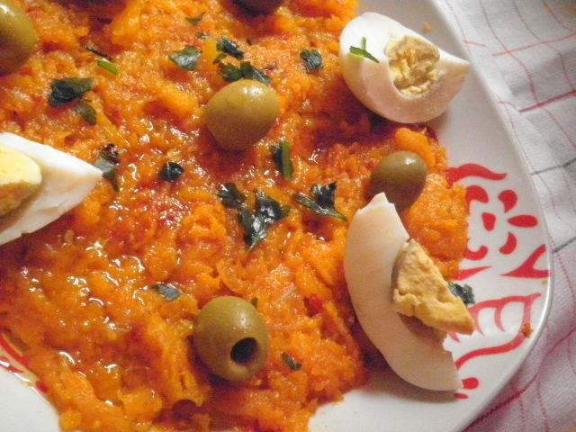 Oum houria salade de carotte cuisinedefarida - Recette cuisine thailandaise traditionnelle ...