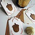 Marimerveille étiquettes Au bois chic gland