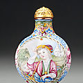 Bonhams achieves fifth sell out auction of the snuff bottles from the mary & george bloch collection