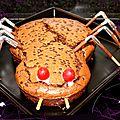 Mon araignée pour halloween
