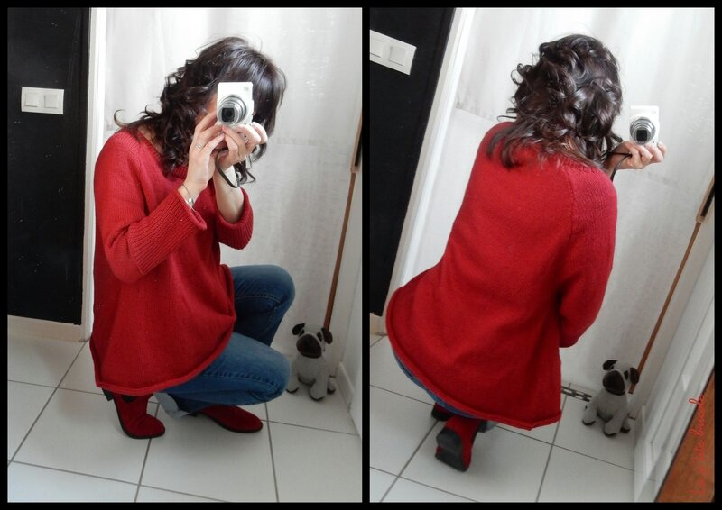 Le pull over rouge 3