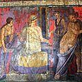 Pompéi, la villa des mystères restaurée