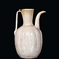 A white earthenware qingbai ewer, Song Dynasty (960-1279)