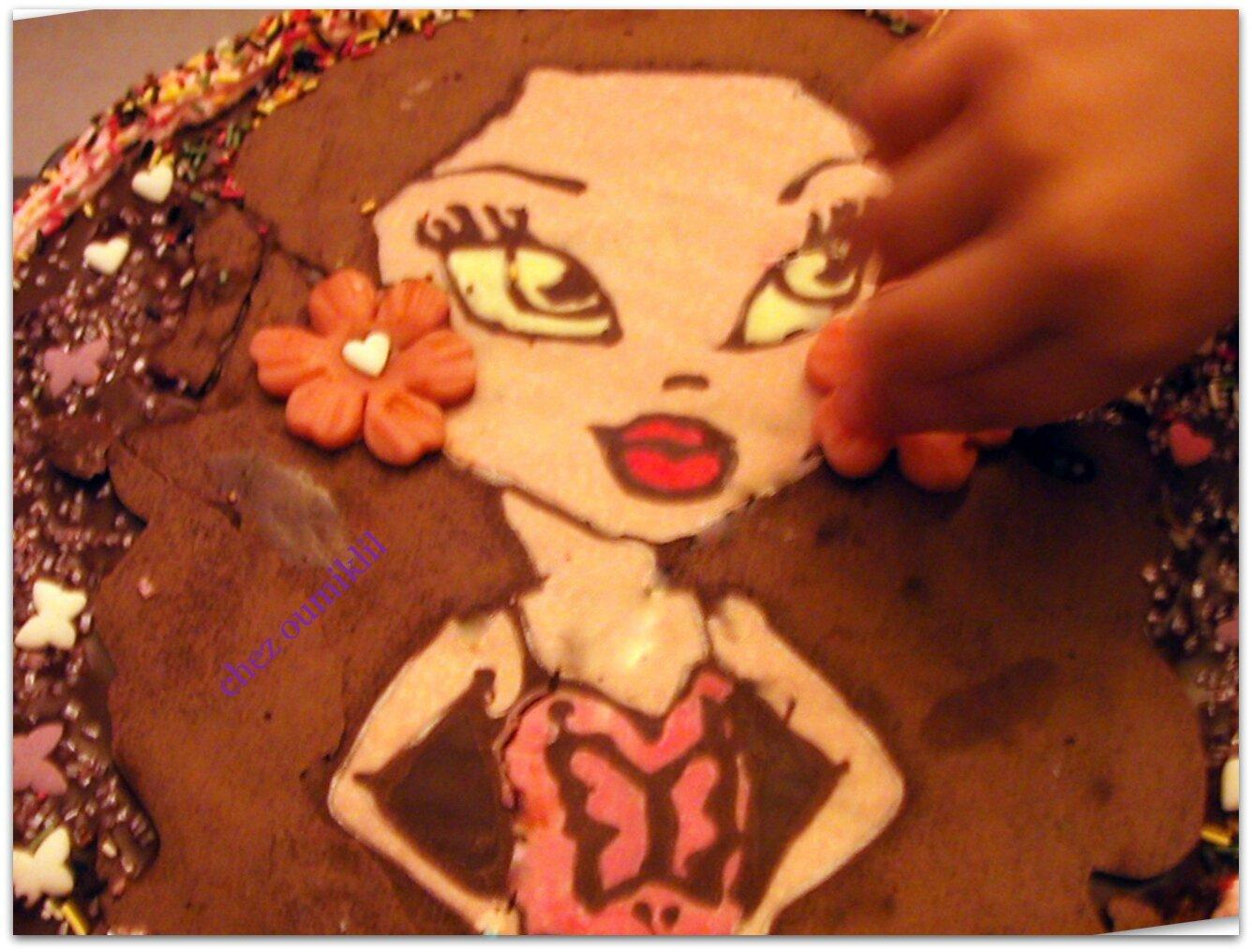 Gâteau d'anniversaire de ma princesse iklil