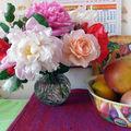 Roses & pivoines