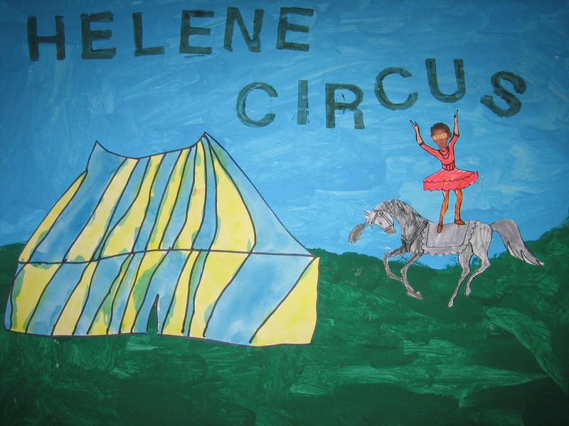 Hélène circus!