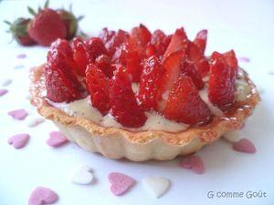 tartelette fraises 1