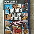 Jeu playstation 2 : grand theft auto - vice city