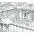 Le temple de Bêl à Palmyre (Syrie)