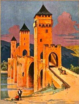 Cahors-16e-Pont-Valentré