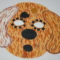 masque chien ..atelier