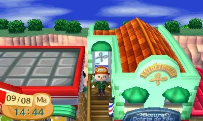 Le salon de coiffure animalcrossingnewleafastuces de cyril11 - Animal crossing new leaf salon de detente ...