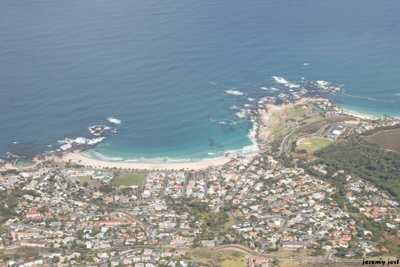 Clifton beach from Table Mountain