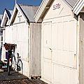 Vélo, ombre, Cabines Cayeux Sur Mer_4206