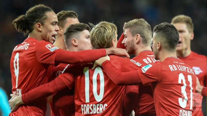 RB Leipzig vs Hertha BSC but et video resume